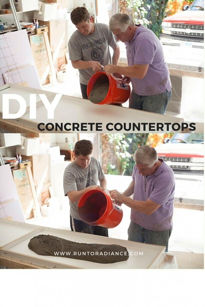 Building Concrete Countertops
