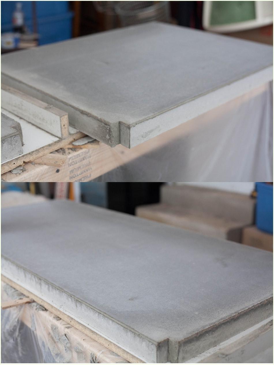 Diy concrete countertops a kitchen update page 2 run - Pintar encimera cocina ...