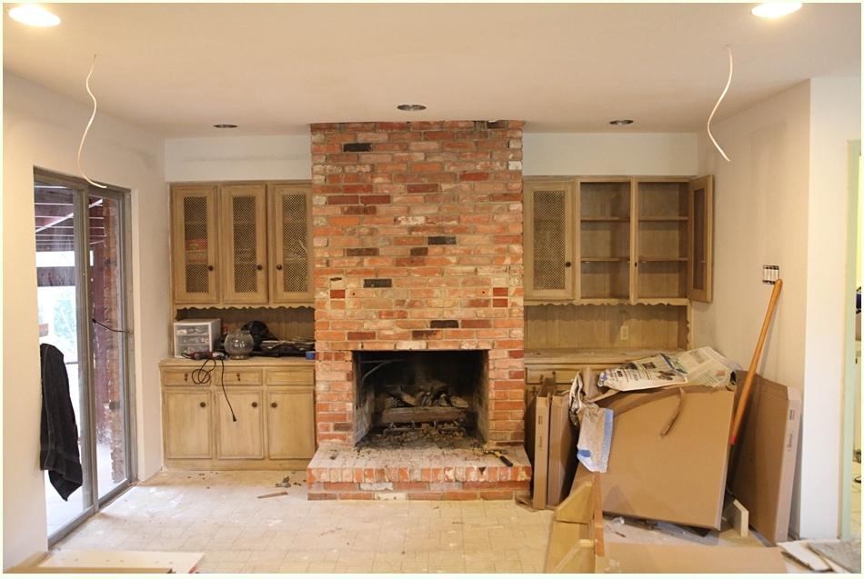 Diy White Washing Fireplace Run To Radiance