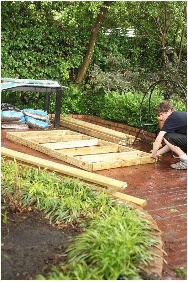 How to Build an Outdoor Swinging Bed- Part Two