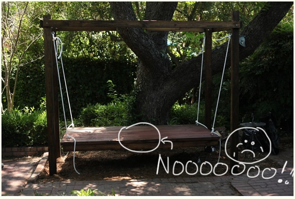diy outdoor swing