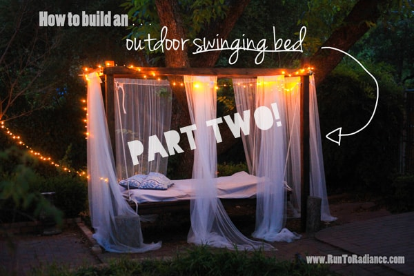 How To Build A Outdoor Swing Bed