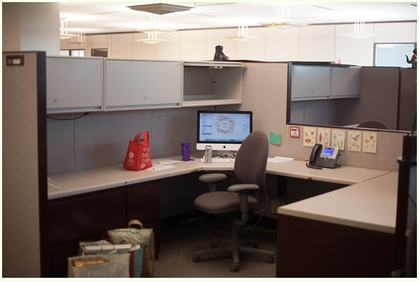 my cubicle makeover run to radiance