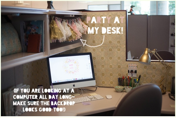 my cubicle makeover - Decorate Cubicle