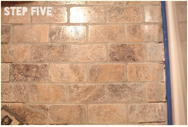 How To Install Tumbled Travertine Tile Run Radiance
