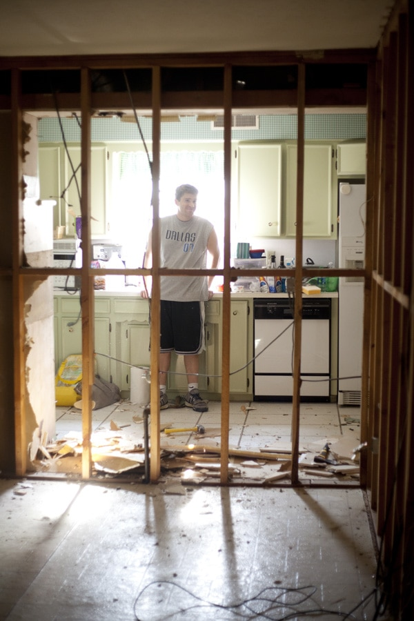 how to survive living in a remodel