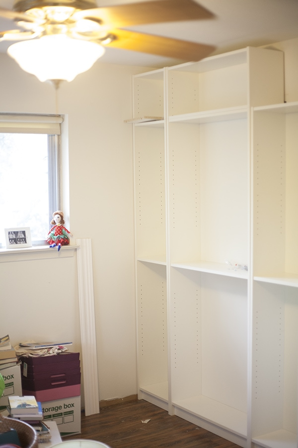 diy built in billy bookcases ikea - Ikea Built In Bookshelves