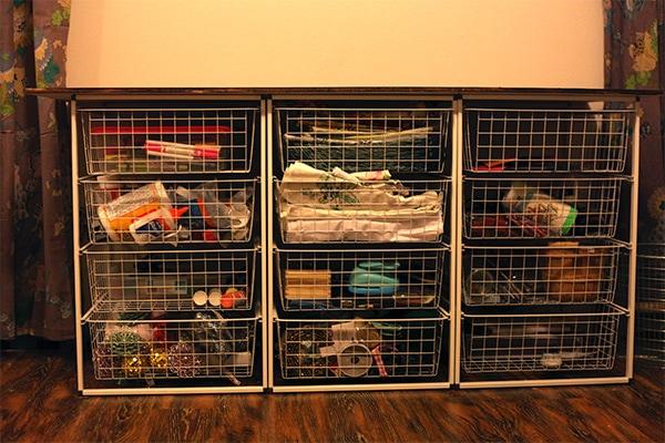 craft storage after