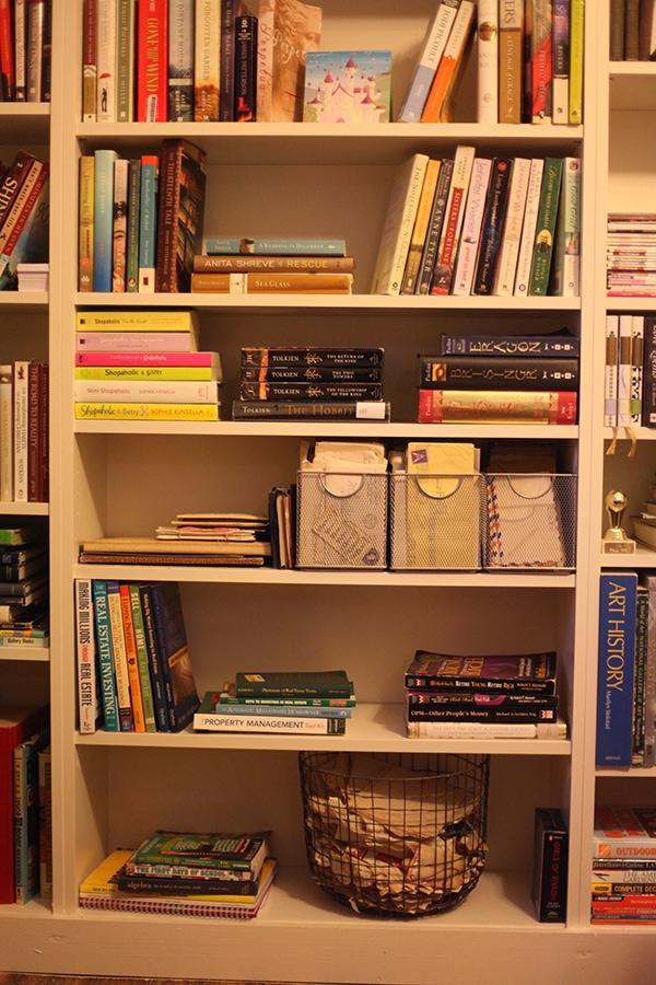 diy built in ikea billy bookshelf 6