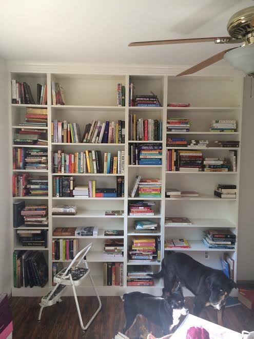 diy ikea billy bookcase built in bookshelves part 2 run to radiance - Ikea Built In Bookshelves
