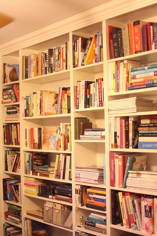 Diy Ikea Billy Bookcase Built In Bookshelves Part 2 Run To