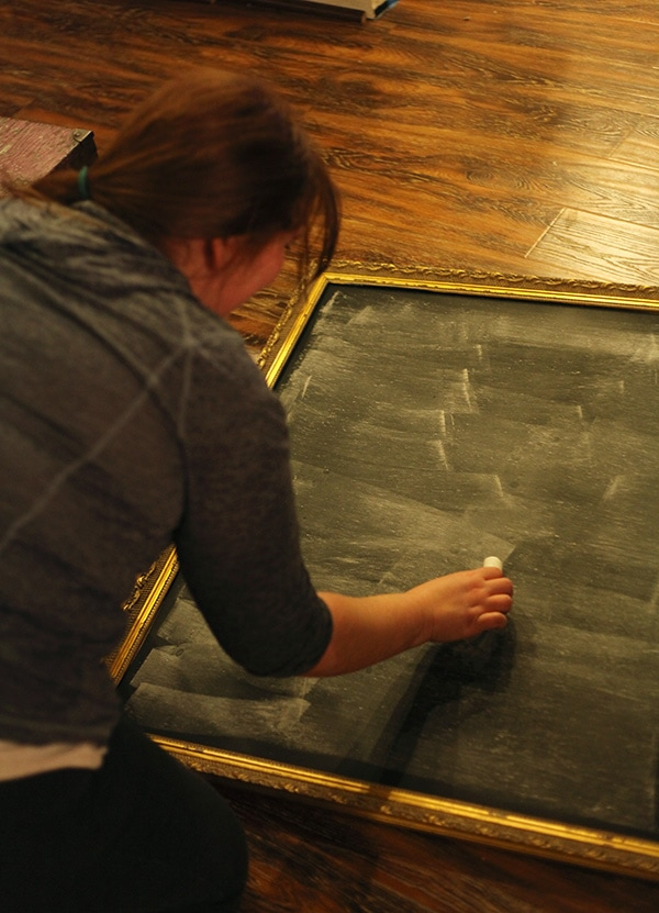 how to make a chalkboard 15