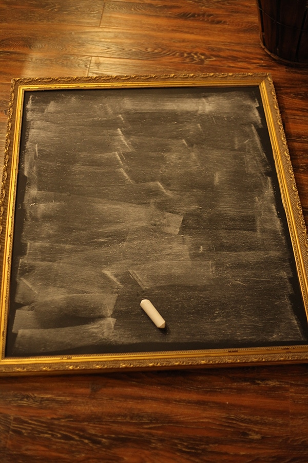 how to make a chalkboard 16