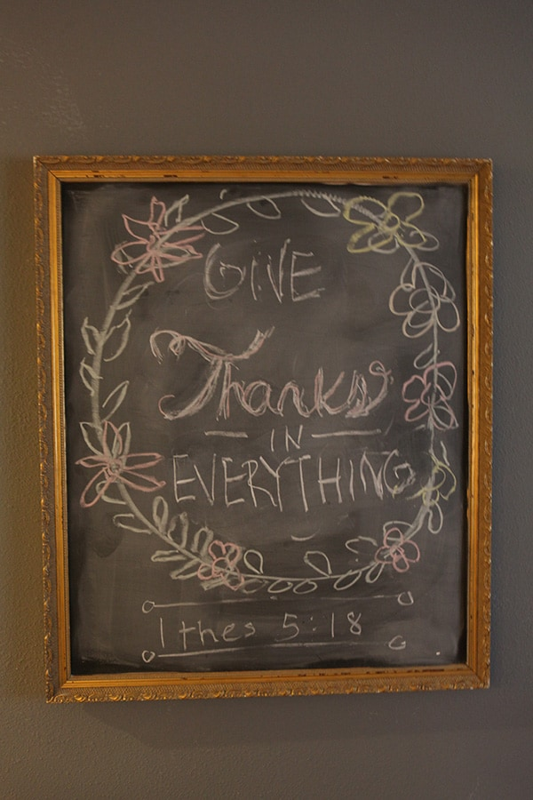 how to make a chalkboard 9