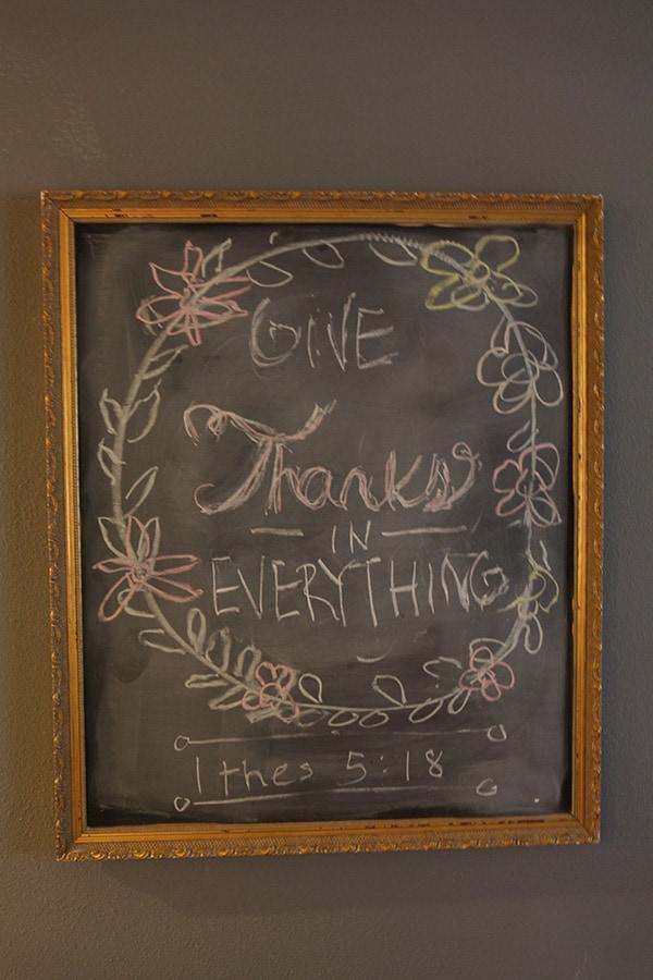How to Make a Framed Chalkboard - Easy DIY!
