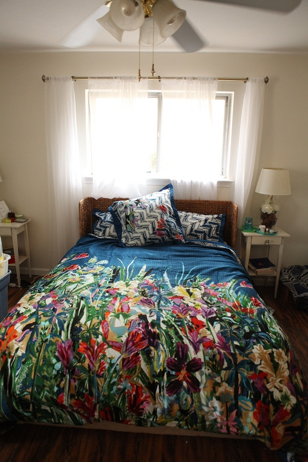 Must see before and after of a master bedroom eloquently done. Timeless,, personal and romantic