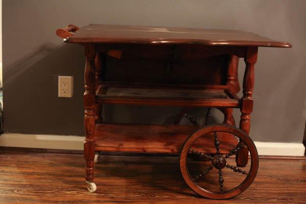 antique tea cart (2 of 5)