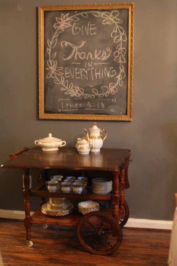 antique tea cart (6 of 8)
