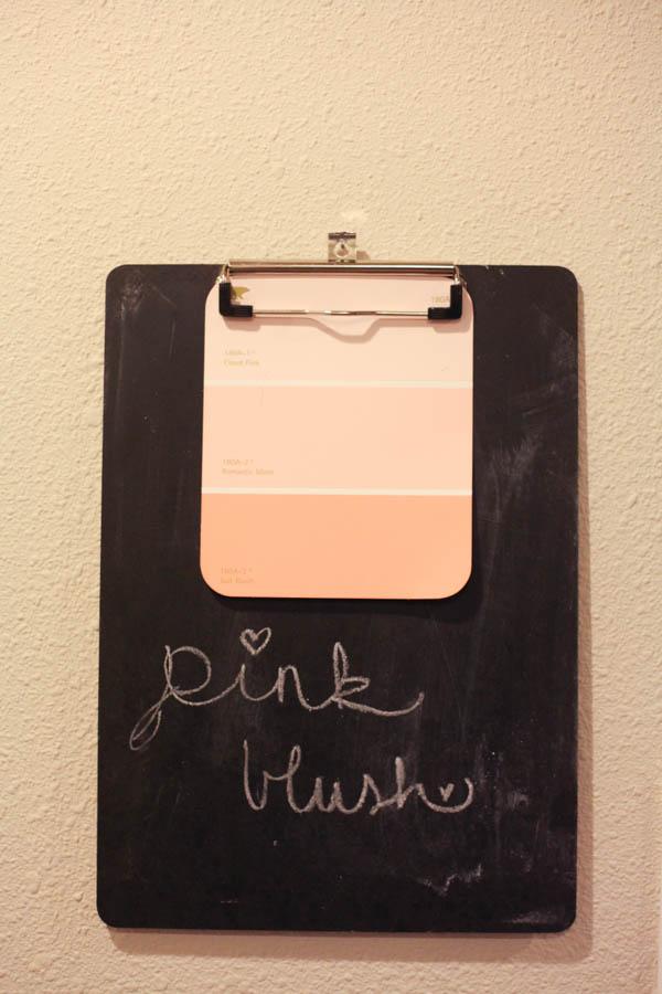 DIY Chalkboard Clipboards - Run To Radiance