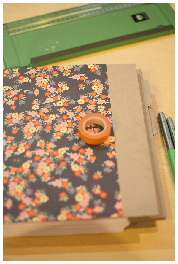 Make your own book with a chipboard scrapbook kit run to