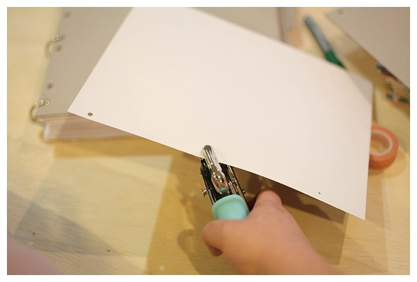 Use a chipboard album to creat a diy book_0005