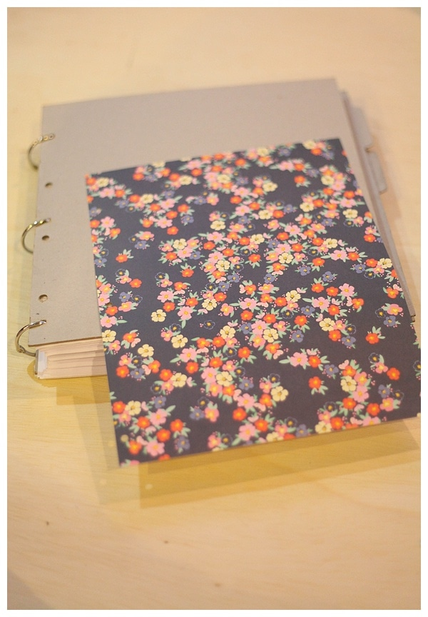 Use a chipboard album to creat a diy book_0006