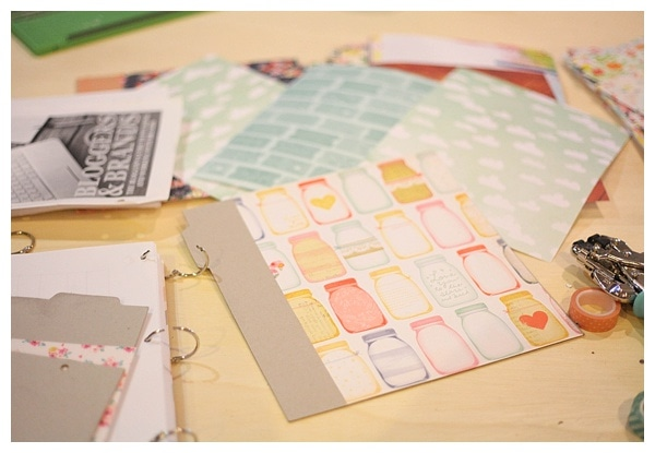 Use a chipboard album to creat a diy book_0012