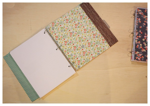 Use a chipboard album to creat a diy book_0016