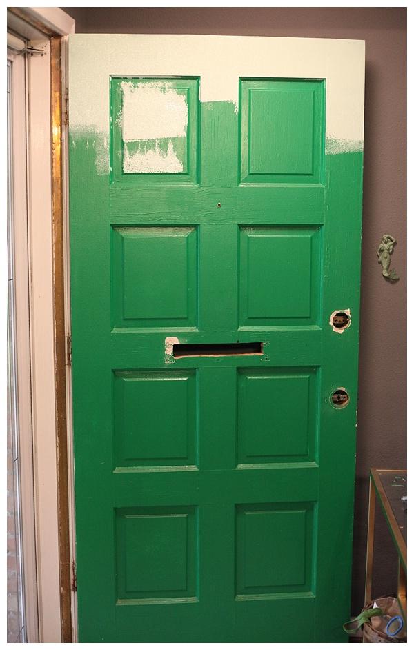 What Kind Of Brush To Paint Front Door