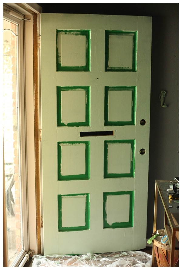 how to paint a front door- click through for info & instructions
