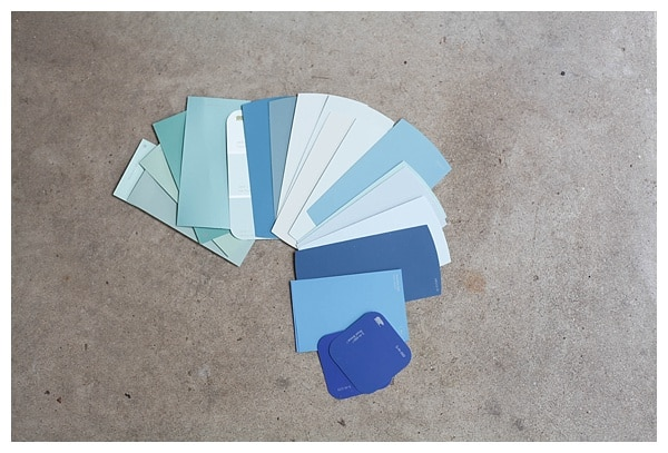 how to pick a front door paint color- click through for info & instructions