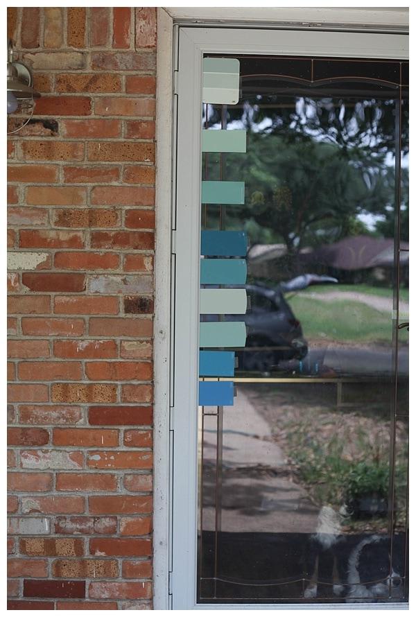Mint Door Doorsixteen Mintgreenbathrooms Theshining