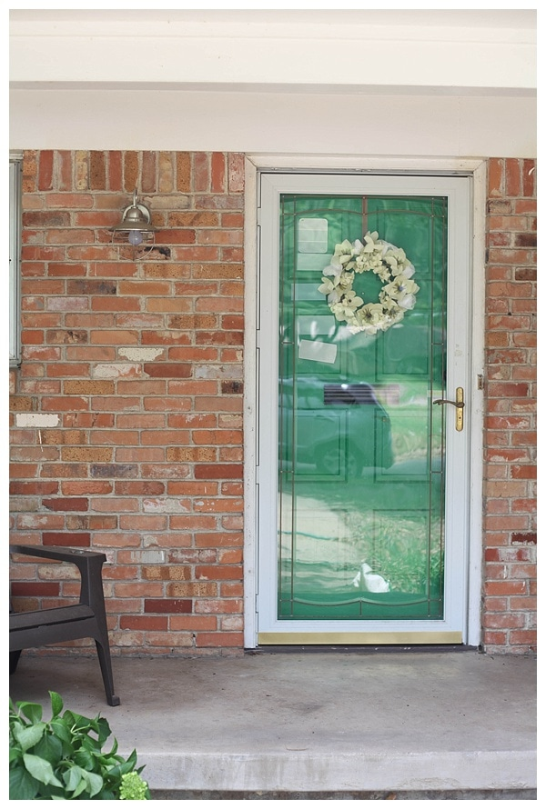Our New Mint Front Door Run To Radiance