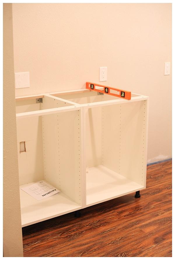 installing ikea akurum cabinets_0006