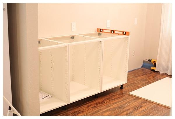 installing ikea akurum cabinets_0007 - Ikea Akurum Kitchen Cabinets