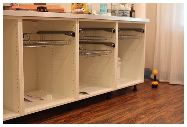 Ikea Akurum Credenza : Akurum cabinets in the butlers pantry run to radiance