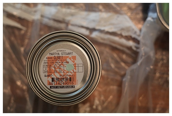 martha stewart sea glass paint