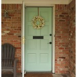 Our New Mint Front Door