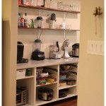 Adding Open Shelving in the Pantry