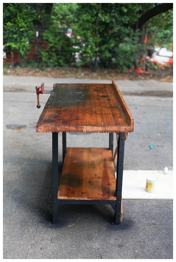You'll Never Guess What We Did With This Old Workbench!
