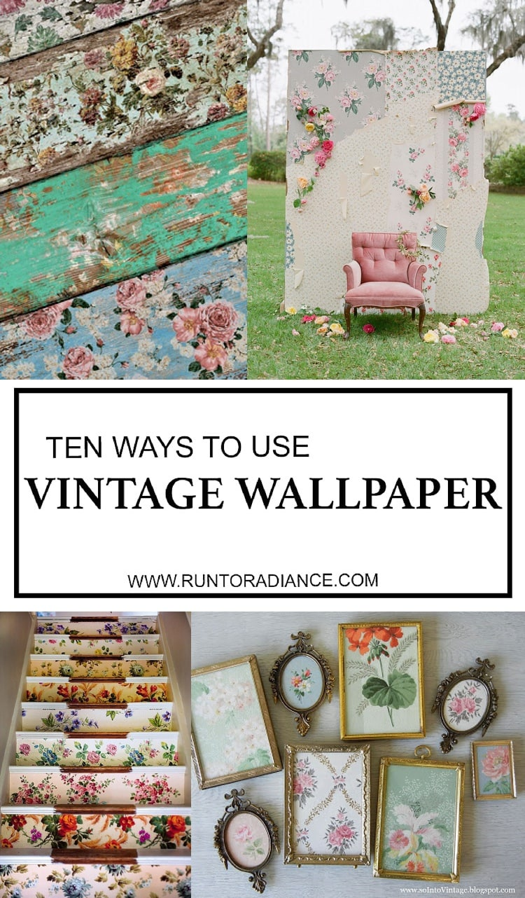 Vintage wallpaper 10 uses of old school wallpaper for for Wallpaper home vintage