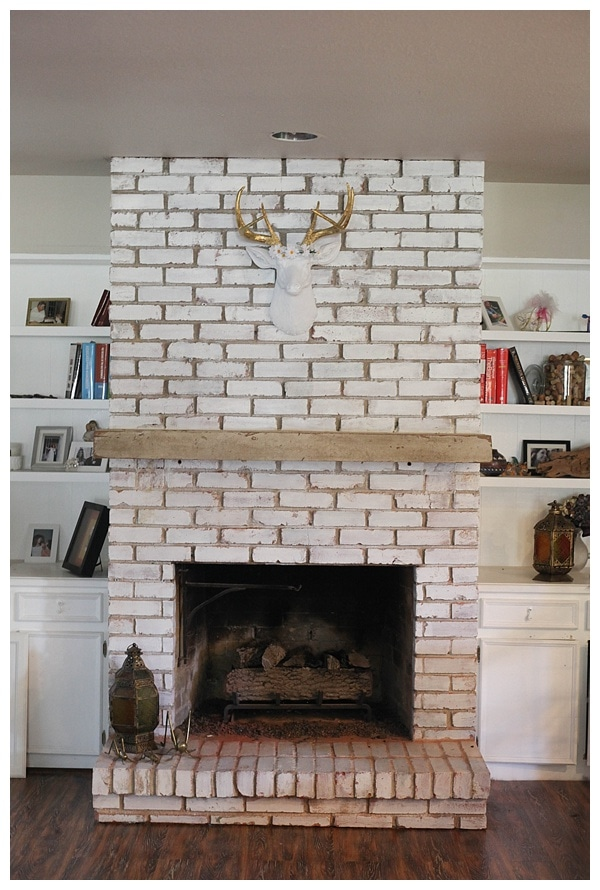 distressed floating fireplace mantle_0001