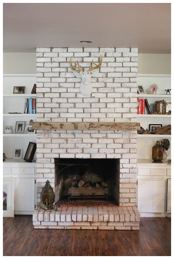 distressed floating fireplace mantle_0007