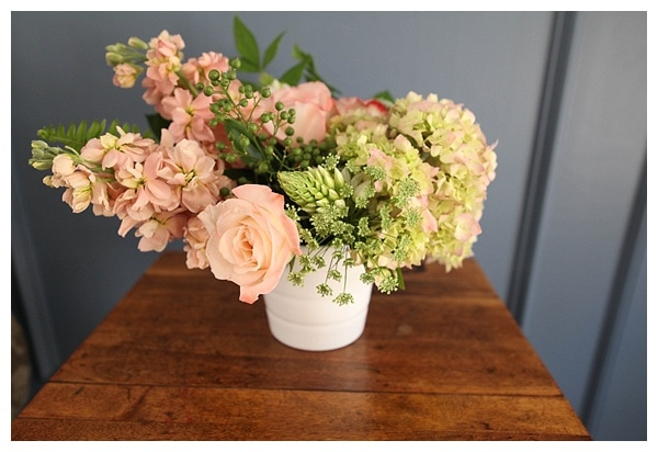 I always wondered how people got those perfect flower arrangements but this post is super helpful. The trick is floral foam and the placement of greenery. Really helpful tips from a floral designer here.