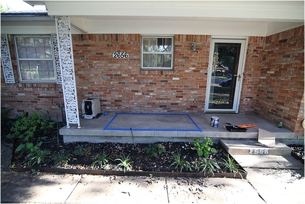 how to paint concrete a patio makeover run to radiance