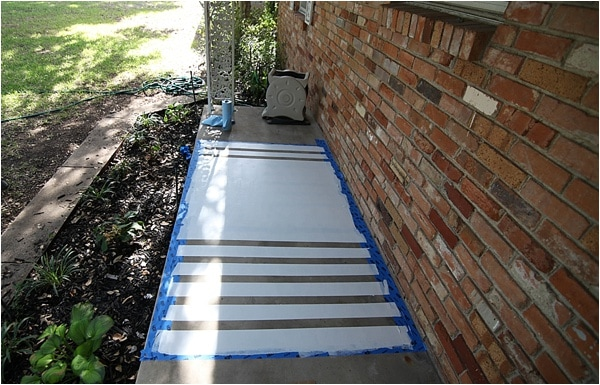 How To Paint Concrete A Patio Makeover Page 2 Run To