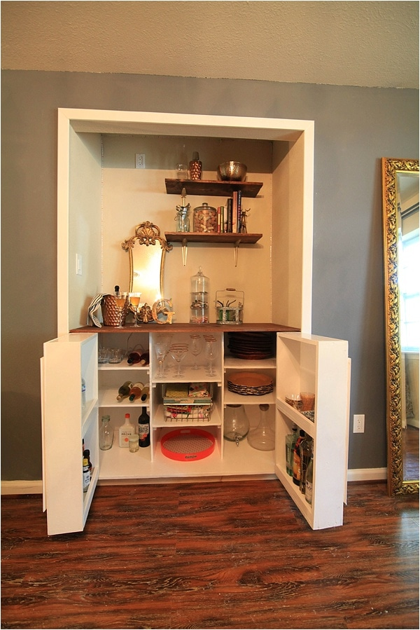 creating custom built in cabinets - How To Make Custom Built In Bookshelves