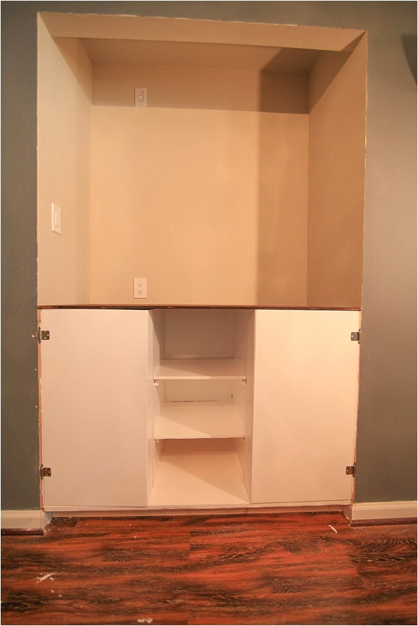 Beau Creating Custom Built In Cabinets