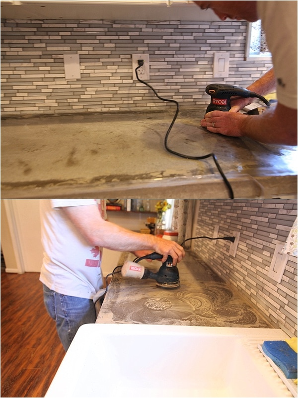 how to reseal and remove stains from concrete countertops_0010