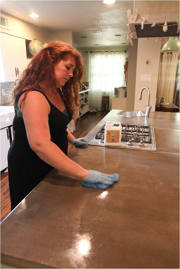 how to reseal and remove stains from concrete countertops_0021